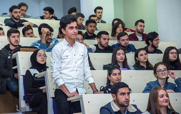"""""""Sosial layihələr"""" müsabiqəsinin BMU-da təqdimatı keçirilib"""