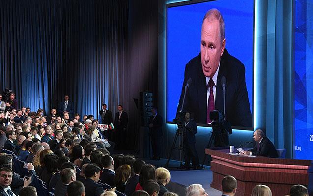 Putin də böyük mətbuat konfransı keçirəcək