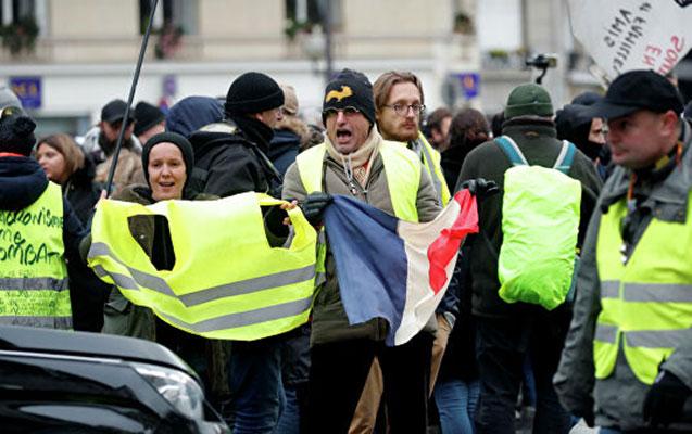 """Fransada 264 """"sarı jiletli"""" saxlanıldı"""