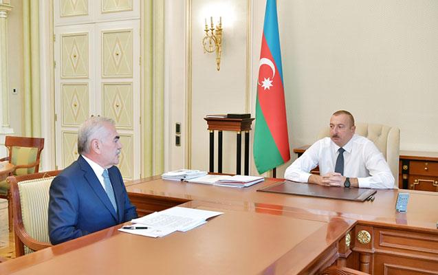 Prezident Vasif Talıbovu qəbul etdi