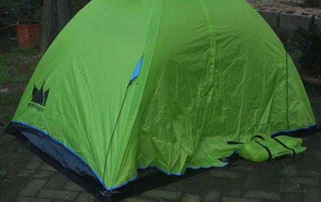 Batumidə də çadırlar quruldu