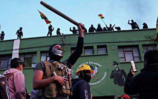 Boliviyada yenidən aksiyalar başladı - Müvəqqəti prezidentə qarşı