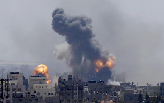 İsrail hərbi qüvvələri Dəməşqi bombaladı