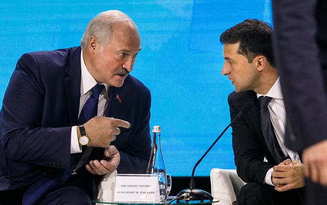 Zelenski Lukaşenkonun təklifini qəbul etmədi