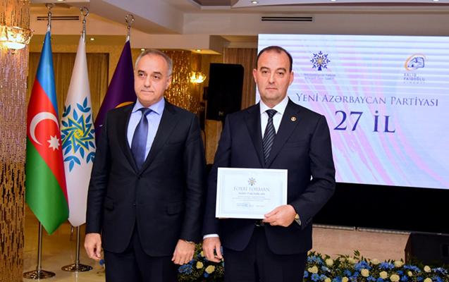 """""""Xaliq Faiqoğlu"""" şirkətində YAP-ın 27-ci ildönümünü təntənəli qeyd edildi"""