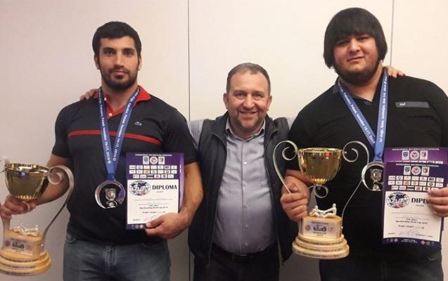İdmançılarımızdan mas-reslinq üzrə dünya kuboku turnirində 2 medal
