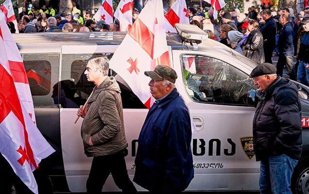 Tbilisidə müxalifət aksiya keçirir