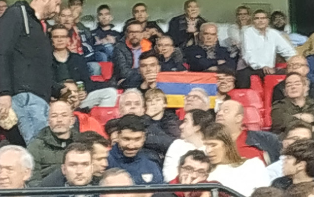 """""""Qarabağ""""ın oyununda qalmaqal - Ermənilər stadiondan çıxarıldı - Video"""