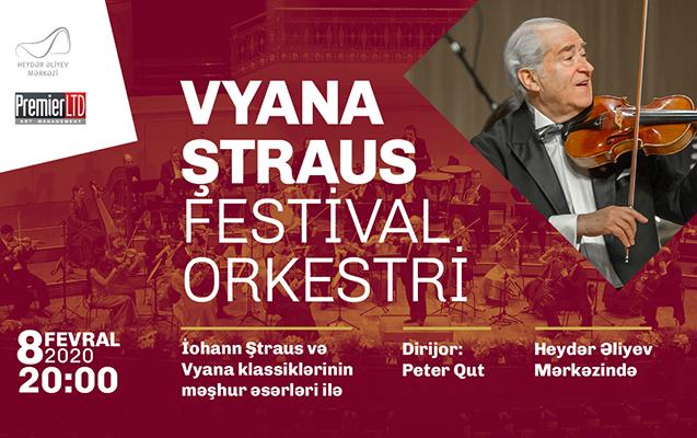 Vyana Ştraus Festival Orkestri Bakıda!