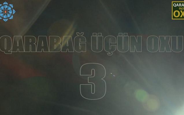"""""""Qarabağ üçün oxu-3""""ün kastinqi başlayır"""