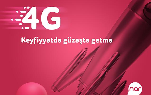 """Regionlarda 4G """"Nar"""" istifadəşilərinin sayı iki dəfə artıb"""