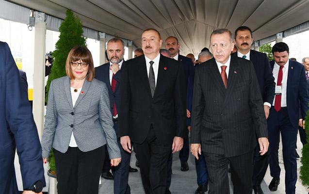 Prezident TANAP-ın Avropa bağlantısının açılış mərasimində