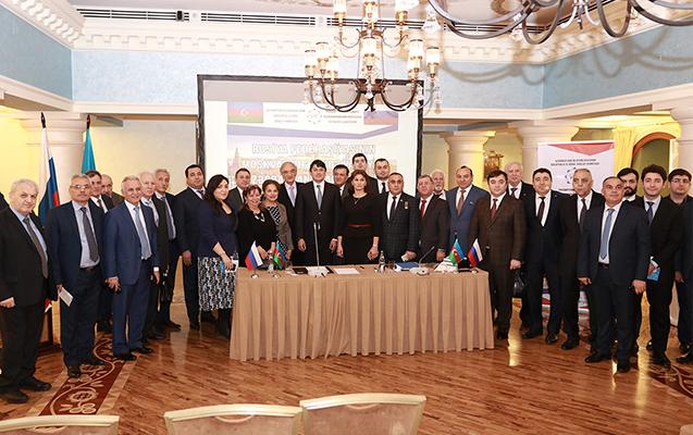 Moskvada yaşayan azərbaycanlılarla görüş