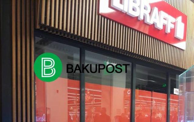 """""""LİBRAFF""""ın 2 böyük filialı bağlandı"""