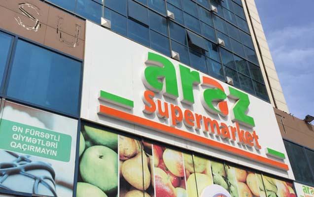 """""""Araz Supermarket""""in ölkəyə gətirdiyi məhsul məhv edildi"""
