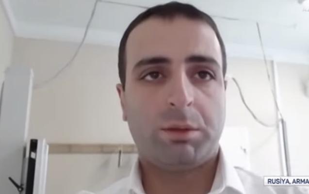 Ermənilər AzTV-nin əməkdaşına hücum çəkdi