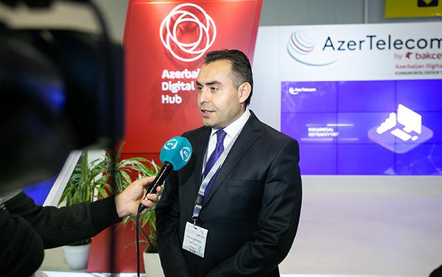 AzerTelecom Baku Tel sərgisində