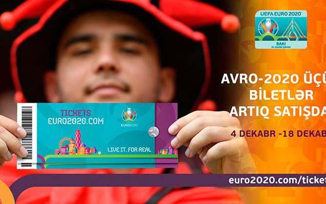 Avro-2020-nin biletləri satışa çıxarıldı- Qiymətlər