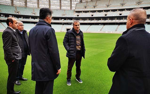 Şenol Günəş Bakı Olimpiya Stadionunda