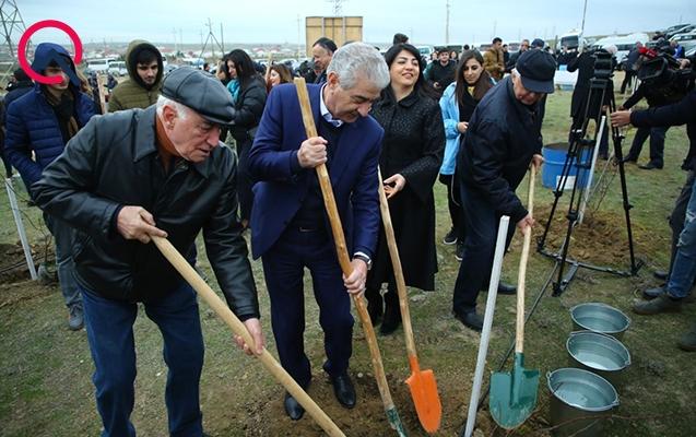 """""""Azərbaycanın ekologiya tarixində özəl gündür"""""""