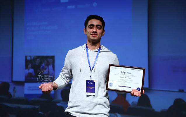 BMU-nun tələbəsi Azərbaycan üzrə birincilik qazandı