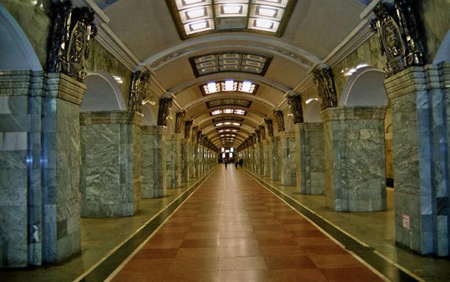 Peterburq metrosunda bomba həyəcanı