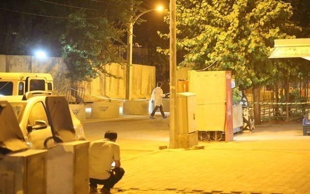 Türkiyədə polis idarəsinə raketlə hücum edildi
