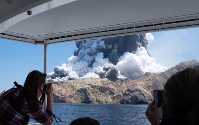 Yeni Zelandiyada 18 il sonra vulkan aktivləşdi