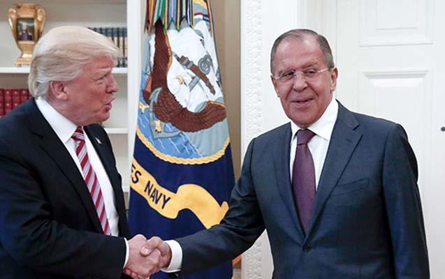 Tramp bu gün Lavrovu qəbul edəcək