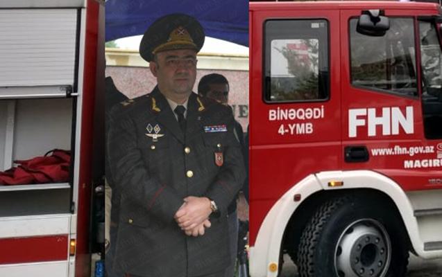 Kəmaləddin Heydərov 51 yaşlı generalı vəzifəsindən çıxardı