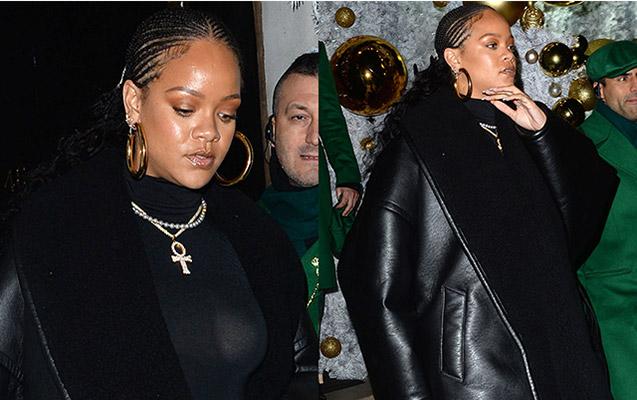 Rihanna yenidən böyük bədən geyimi ilə diqqət mərkəzində