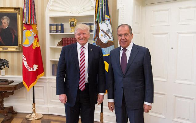 Tramp Lavrovla görüşdü