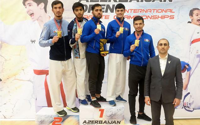 İlk dəfə Karate üzrə Azərbaycan Open və Qran Pri Baku Turniri keçirildi