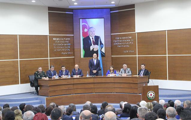 Nizami rayonunda da Heydər Əliyev yad edildi