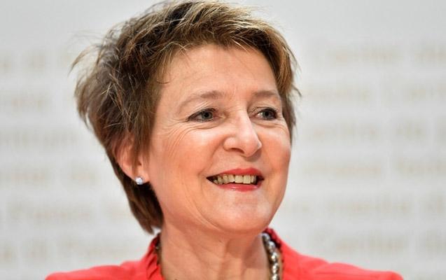 İsveçrədə qadın prezident oldu