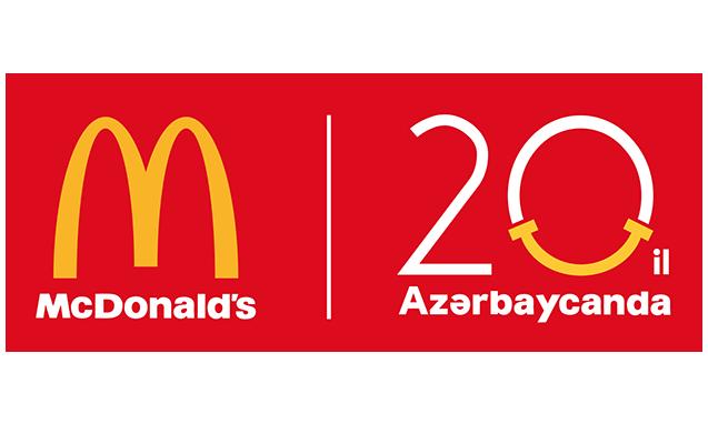 McDonald's 20 il Azərbaycanda