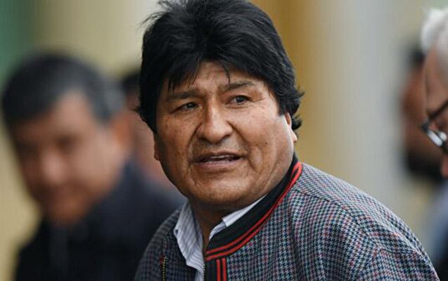 Morales bu dəfə Argentinaya getdi