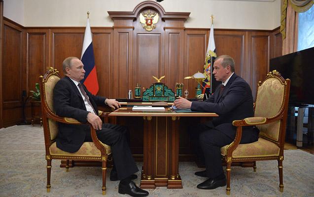 İrkutsk qubernatoru istefa verdi, Putin qəbul etdi