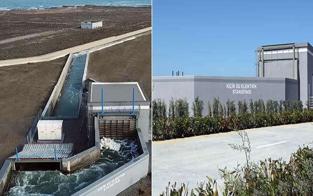 Bakıda yeni Su Elektrik Stansiyası istismara verildi - Video