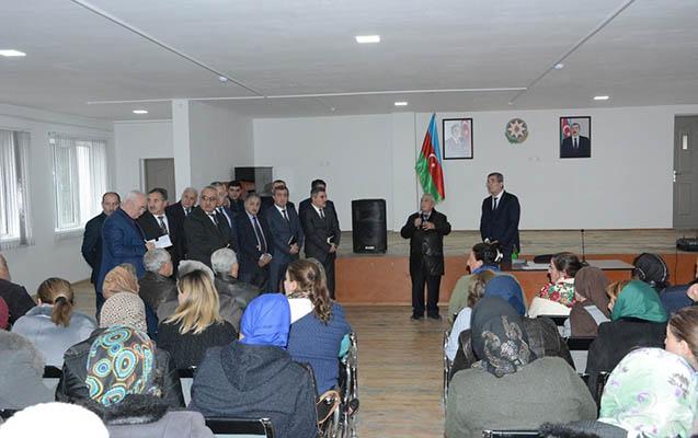 Süleyman Mikayılov səyyar görüş keçirdi