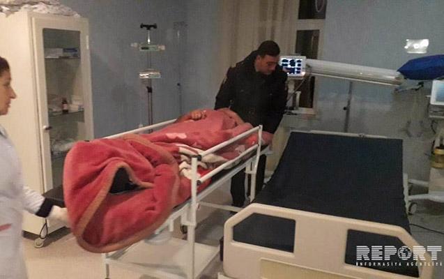Kürdəmirdə bələdiyyə sədrinin oğulları kənd sakinini bıçaqladılar