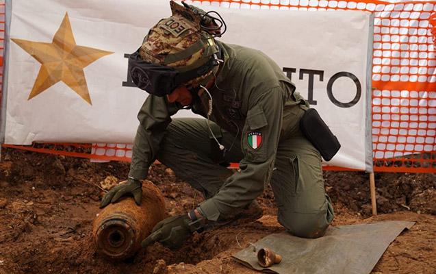 İtaliyada bomba tapıldı, 54 min nəfər təxliyyə olundu