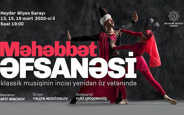 """""""Məhəbbət əfsanəsi"""" baleti yenidən Bakı səhnəsində"""