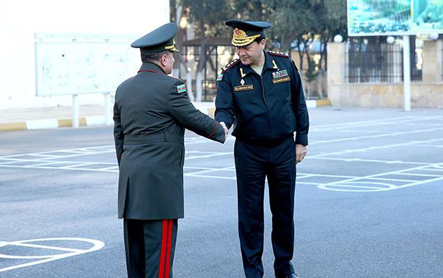 General-mayorlar rЙ™is tЙ™yin edildi - Foto