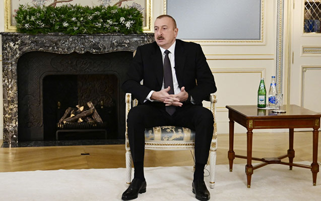Prezident Davosda mühüm görüşlər keçirdi