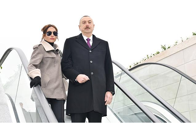 Prezident ailəsi ilə Ağ Şəhərdə
