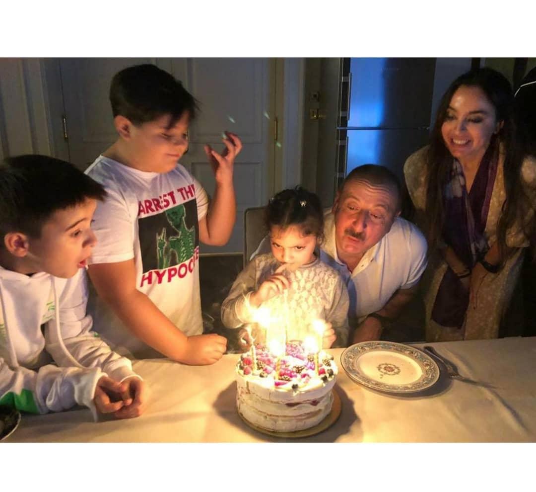 Prezidentin doğum günündən - Fotolar