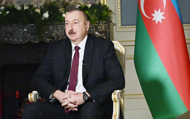"""İlham Əliyev """"Rossiya-24""""ə müsahibə verdi"""