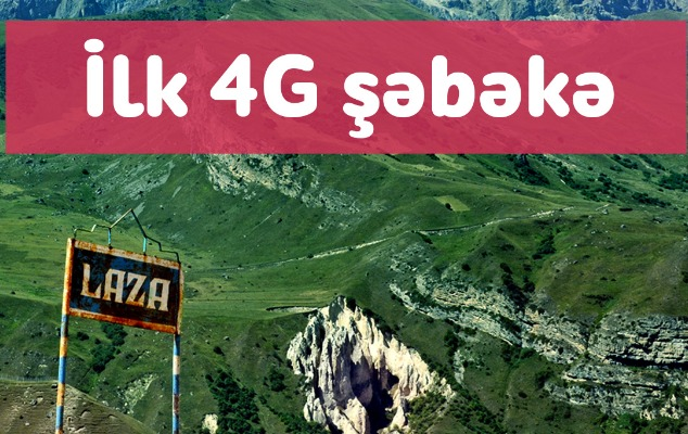 """""""Nar"""" Qusarın Laza kəndini 4G şəbəkəsi ilə təmin etdi"""