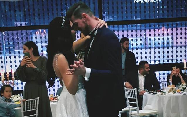 """""""Qarabağ""""ın sabiq futbolçusu türk xanımla evləndi"""